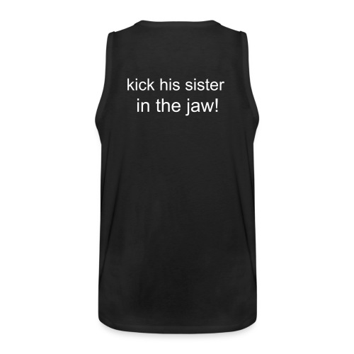 mens humour tank top - Men's Premium Tank Top