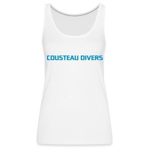 Tank top Cousteau Divers - Women's Premium Tank Top