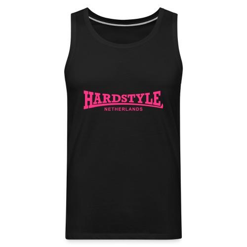 Hardstyle Netherlands - Neonpink - Men's Premium Tank Top