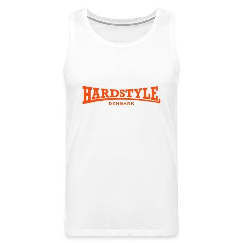 Hardstyle Denmark - Neonorange - Men's Premium Tank Top