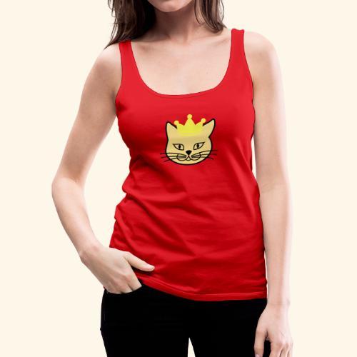 "Frauen T-Shirt ""Princess Kitteh"" - Frauen Premium Tank Top"