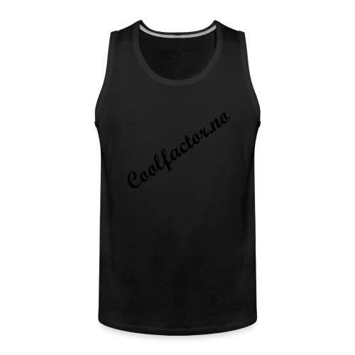 Coolfactor.no - Premium singlet for menn