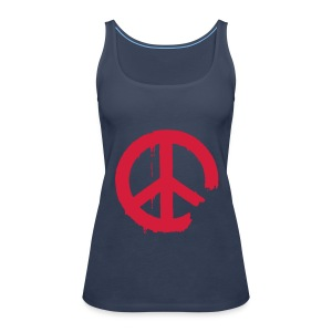 PEACE - Frauen Premium Tank Top
