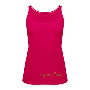 Women's Basic Pink Vest Top - Women's Premium Tank Top