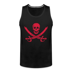 pst69.de/sign Muscle Pirate - Männer Premium Tank Top