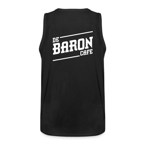 baron_no_back_white - Mannen Premium tank top