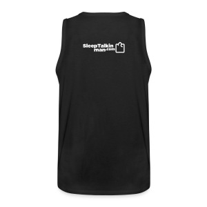 MENS MUSCLE T: I joined for the mirrors - Men's Premium Tank Top