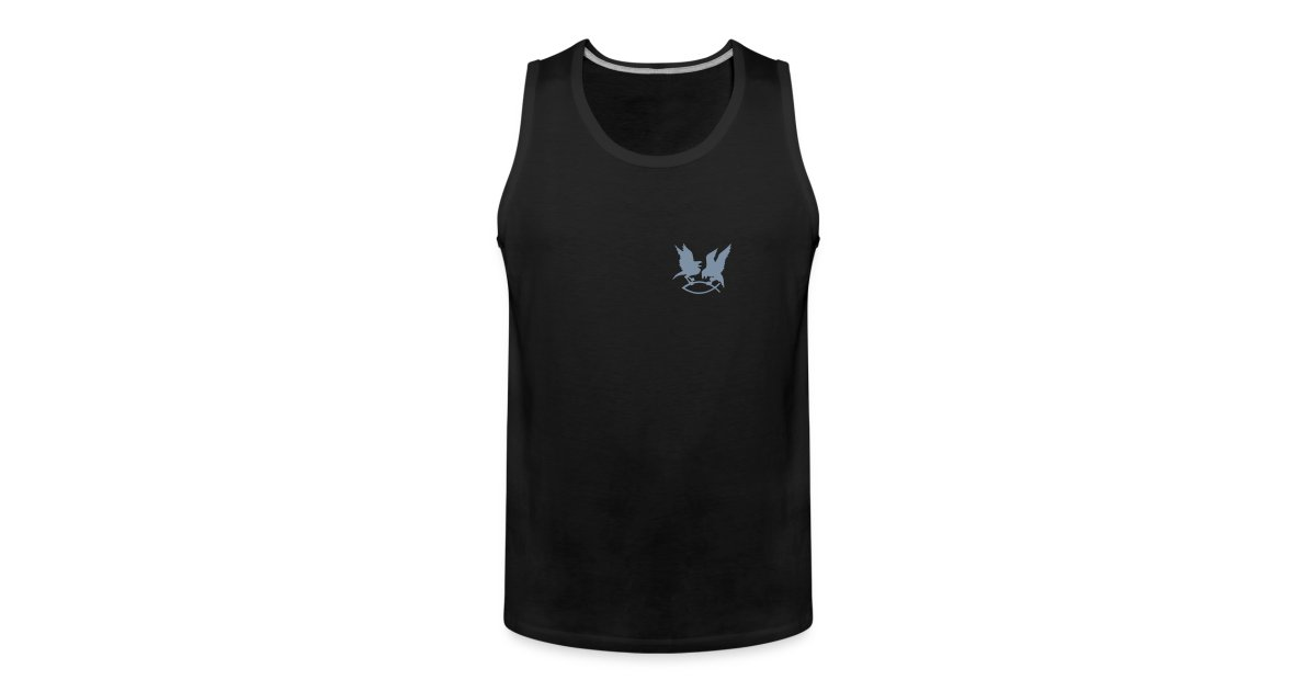 Kleidung des Germanen :)   Muskel Shirt mit Odin's Raben auf ...