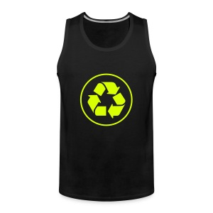 Recycle circle - Mannen Premium tank top