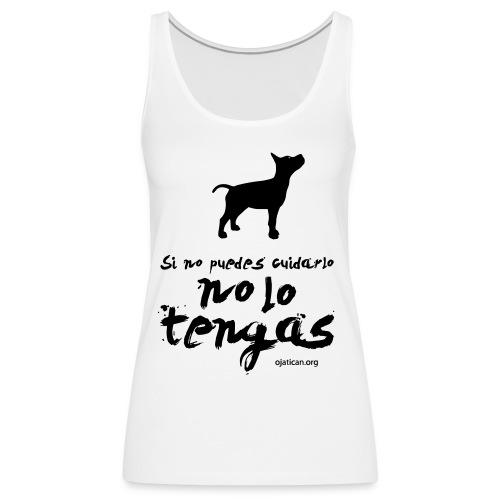 mod. Ocan negro mujer nadadora - Camiseta de tirantes premium mujer