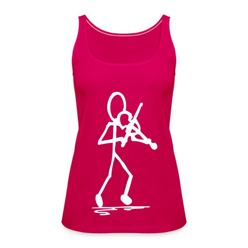 Fiddler's Stickman Breathable Lady Top - Women's Premium Tank Top