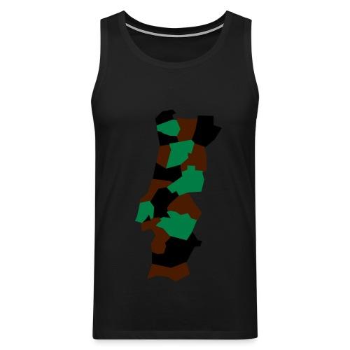 Portugal Camouflage - Débardeur Premium Homme