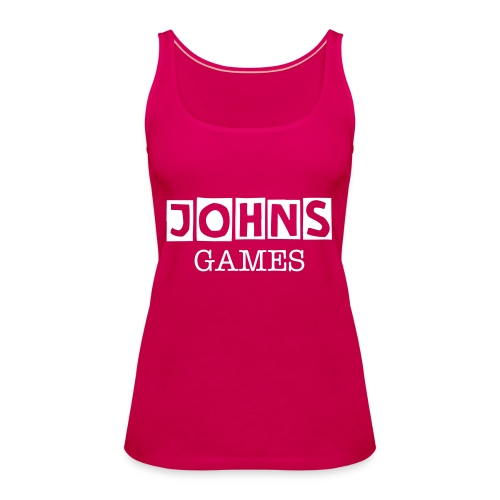 Johns Game Channel Tank Top! - Women's Premium Tank Top