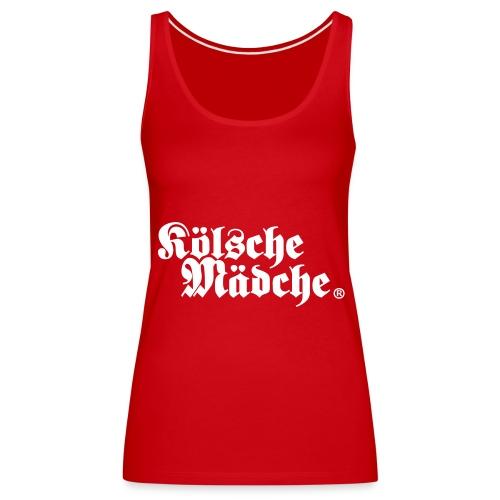 """Kölsche Mädche """"Classic"""" - Frauen Premium Tank Top"""