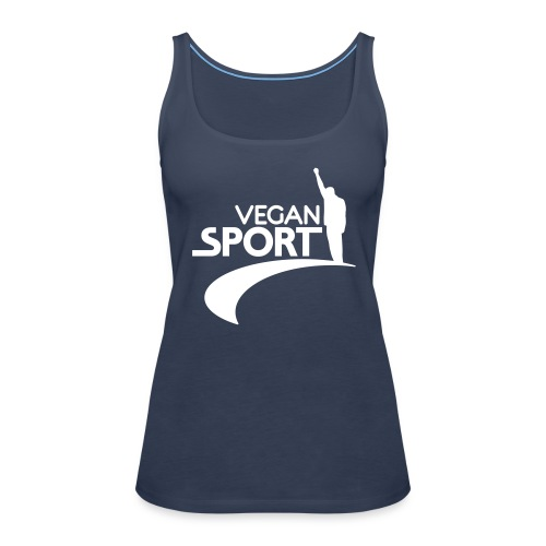 Womens Tank-Top 'VEGAN SPORT' - Frauen Premium Tank Top
