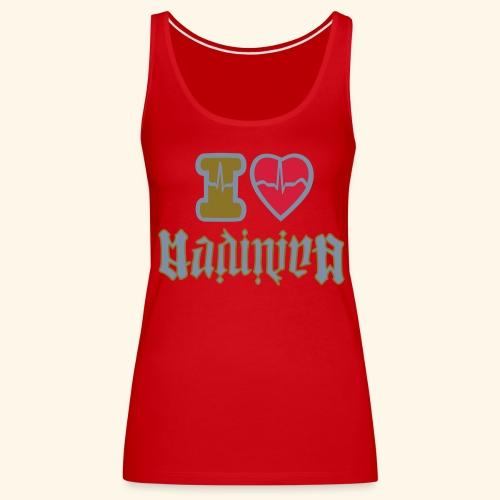 I LOVE MADININA - Débardeur Premium Femme