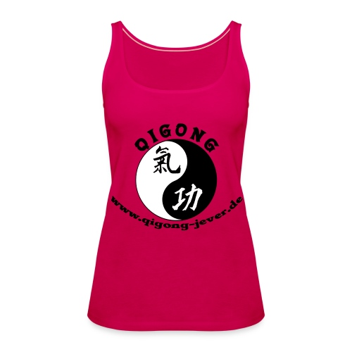 Qigong in Jever Tank Top - Frauen Premium Tank Top
