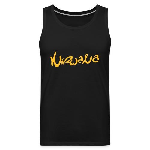 Nirwana Spierbundel shirt - Man - Mannen Premium tank top