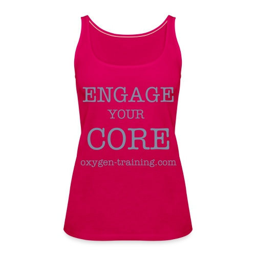 "Débardeur Laurence ""engage your core"" - Débardeur Premium Femme"