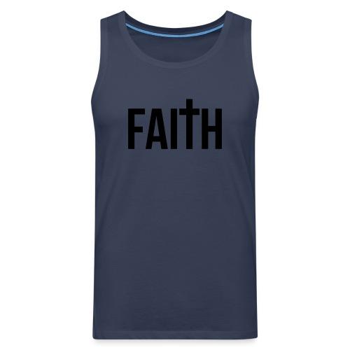 Men's Faith Tank - Men's Premium Tank Top