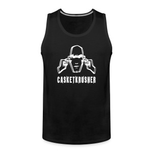 DJ Casketkrusher Tank Top Male - Men's Premium Tank Top