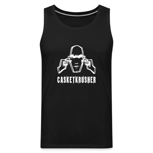 DJ Casketkrusher Tank Top Male - Men's Premium Tank Top
