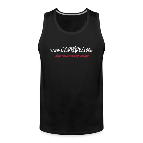 www.carparea.org Muskelshirt mit Logo - Männer Premium Tank Top
