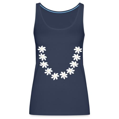 T-shirt collier tiare tahiti - Débardeur Premium Femme