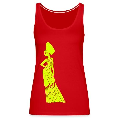 Spicy spanish flamenca girlie ! - Women's Premium Tank Top