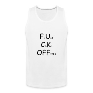 FRUITCAKE OFFICER - Men's Premium Tank Top
