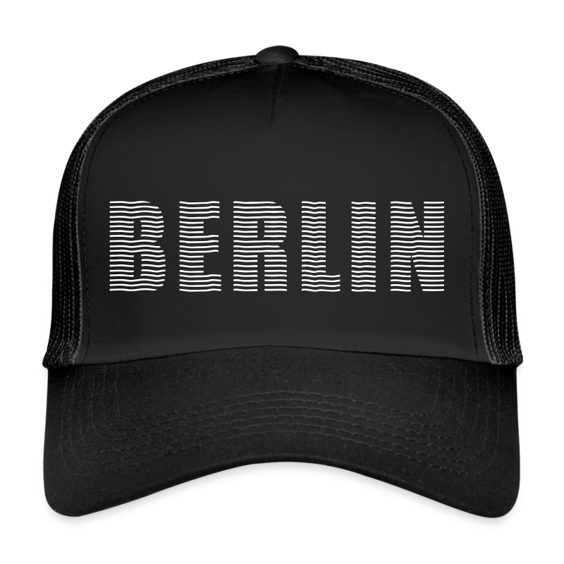 BERLIN Linienschrift - Trucker Cap