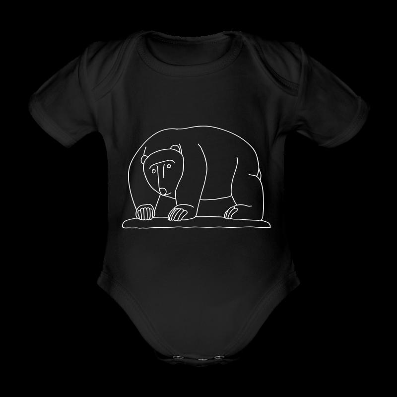 Moabiter Bären Brücke - Baby Bio-Kurzarm-Body