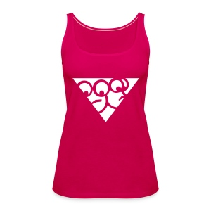 Rosa-Top (Girls) - Frauen Premium Tank Top