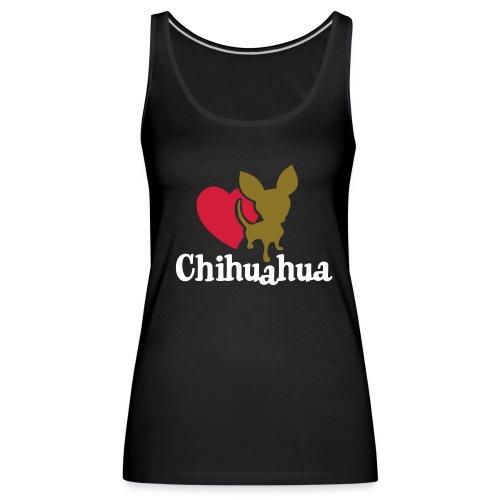 chihuahua - Canotta premium da donna