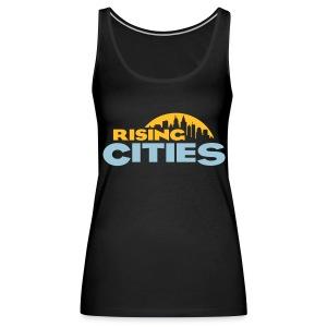 Rising Cities Logo Girl Top - Frauen Premium Tank Top
