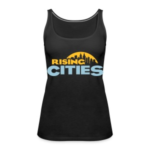 Rising Cities Logo Girl Top - Frauen Premium Tank Top
