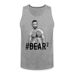 GAY TRIBE GEAR TANK / BEAR2 - Men's Premium Tank Top