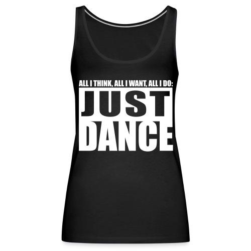 [JUST DANCE] noir - Women's Premium Tank Top