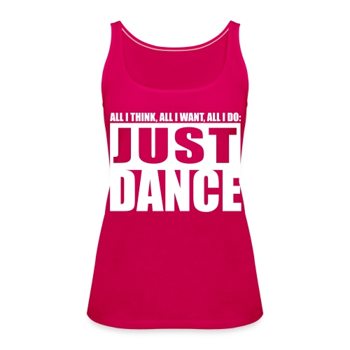 [JUST DANCE] rose - Women's Premium Tank Top