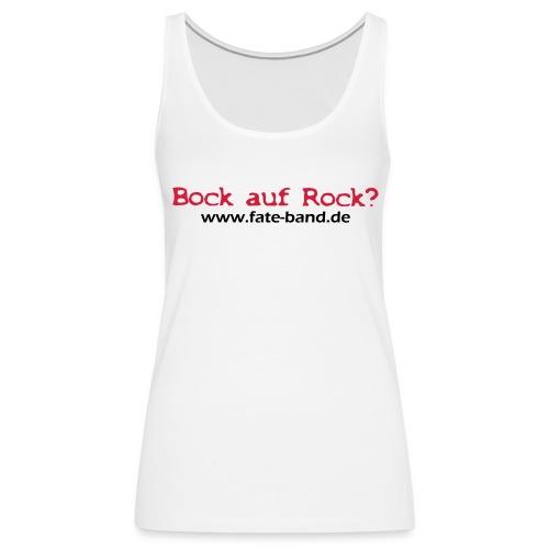 f.a.t.e. Frauen Tank Top weiß - Frauen Premium Tank Top