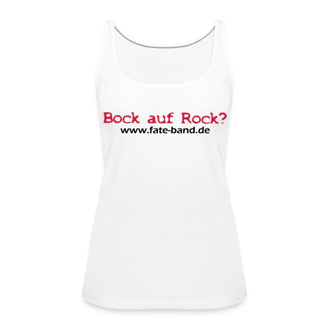 f.a.t.e. Frauen Tank Top weiß