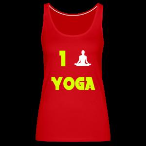 I love yoga - Débardeur Premium Femme