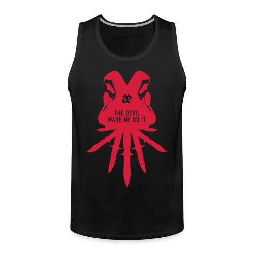 Leaether Strip - The Devil Made Me Do It : Muscle Shirt - Men's Premium Tank Top