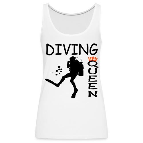 Diving Queen - Frauen Premium Tank Top