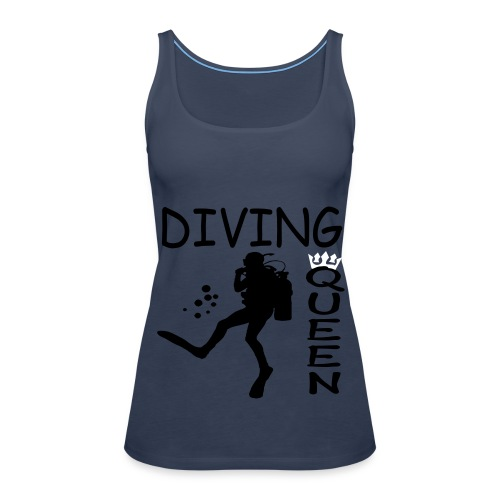 Diving Queen - Frauen Premium Tank Top