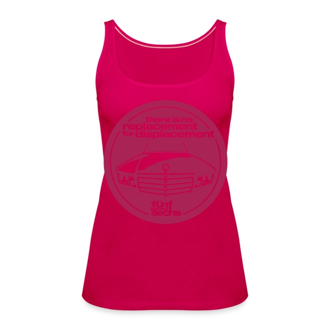 5,6 Hubraum-Damentop pink
