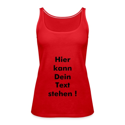 000 - Frauen Premium Tank Top
