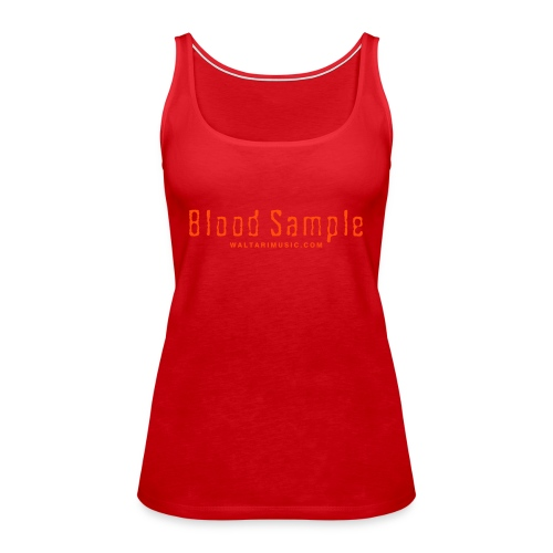 Waltari Blood Sample Girlie Racerback - Women's Premium Tank Top