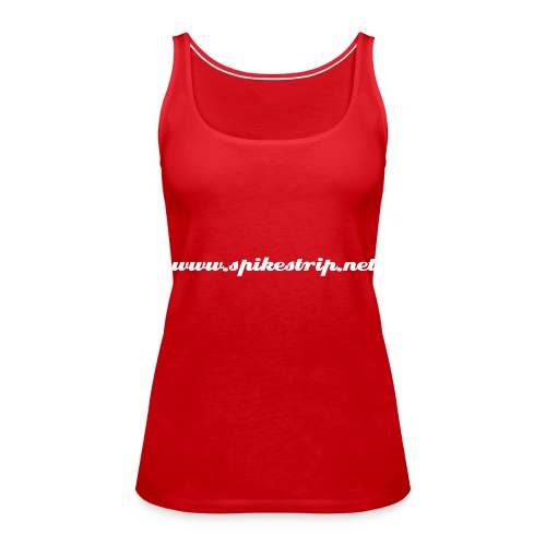 Spikestrip.net Girls Vest Red - Women's Premium Tank Top