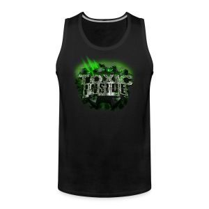 ToXic Inside Tanktop [Black] [Add your own text] - Men's Premium Tank Top